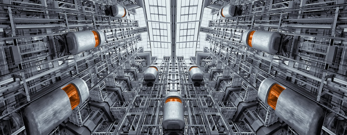 Fördermittel zur Energieeffizienz - Lagerlogistik